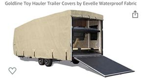 RV, travel trailer, toy hauler - cover, gutter protector, and tire protectors / covers for Sale in Fort Worth, TX