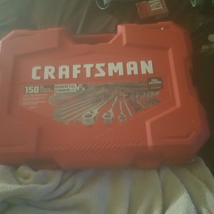 150 piece craftsman new lifetime warranty for Sale in North Fort Myers, FL