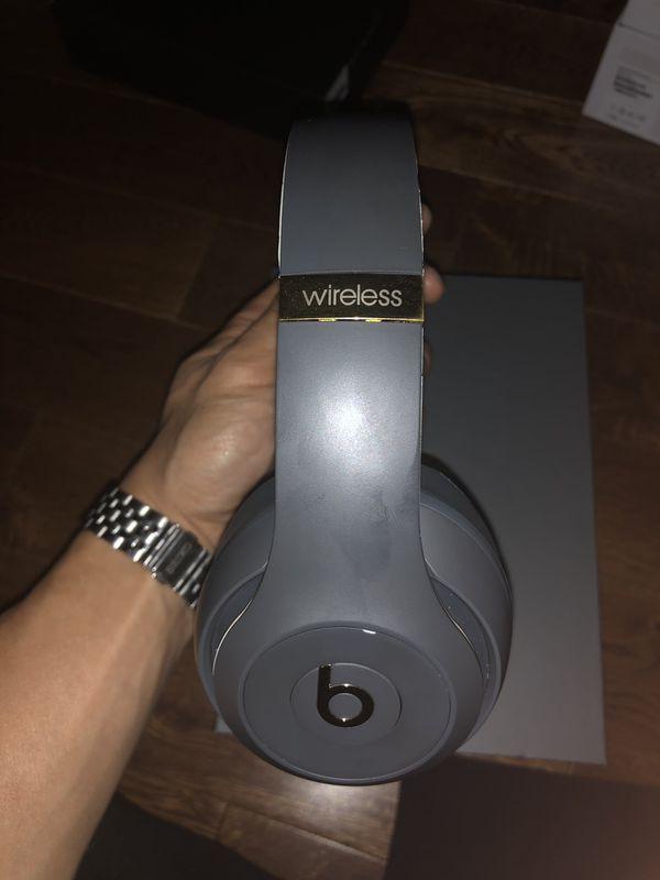 Beats studio 3 wireless headphone (shadow gray)