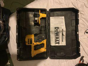 Dewalt Dc212 18v SDS hammer for Sale in Saint Paul Park, MN