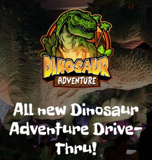 Dinosaur Adventure Drive-Thru for Sale in Edgewood, WA