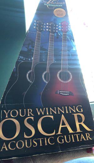 Oscar schmidt acoustic guitar for Sale in Inglewood, CA