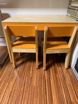 Kids table and chairs-p'kolino for Sale in Fountain Valley, CA