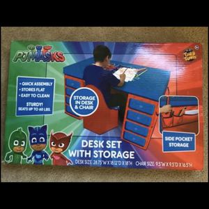 PJ Mask Desk Set For Kids for Sale in Westminster, MD