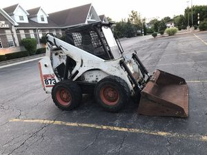 I sell my bobcat year 2000873 works well ready to work has 4100 hours for Sale in Plainfield, IL