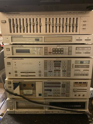 Marantz stereo system with remote for Sale in Edgewood, WA