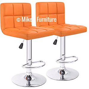 New 2 orange stools $55 each for Sale in Orlando, FL
