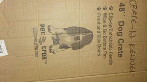 "Dog crate 48"" pet trek for Sale in Orlando, FL"