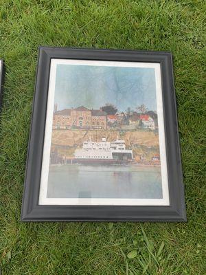 PENDING Beautiful Mukilteo Ferry Framed Art for Sale in Everett, WA