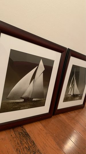 Sailboat prints with frames for Sale in Redington Shores, FL