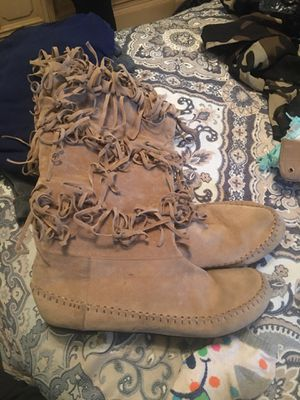 fringe boots for Sale in Winter Haven, FL