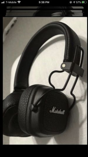 Marshall wireless Bluetooth headphones for Sale in Nashville, TN