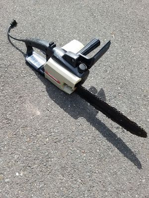 Craftsman 12 inch electric chainsaw for Sale in Toms River, NJ