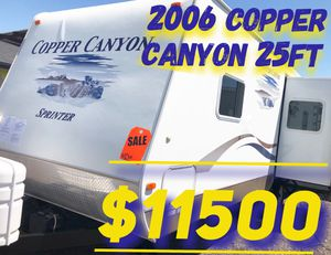 2006 Copper Canyon 25ft Travel Trailer Camper Trailer Lite for Sale in Mesa, AZ