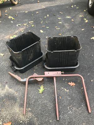 2-bag leaf system for garden tractor for Sale in Manassas, VA