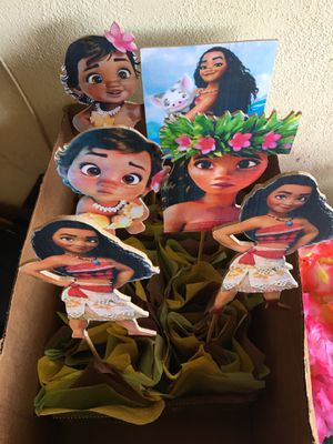 Moana table pieces for Sale in Santa Maria, CA