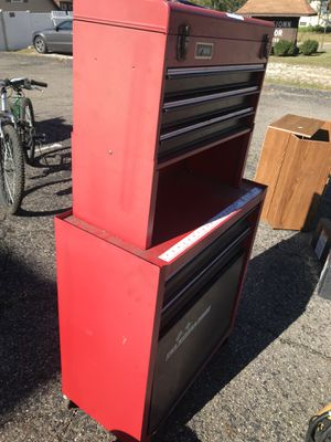 Homak tool box for Sale in Johnstown, OH