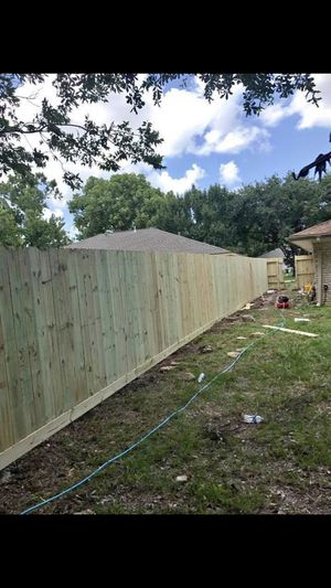We built wood fence for Sale in Durham, NC