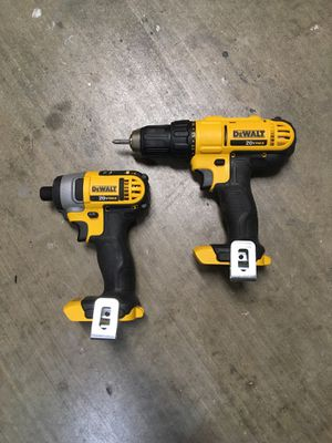 20v Max Drill Driver and Impact. (Tools only) for Sale in Fort Worth, TX