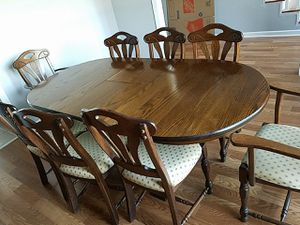 Dining Table w/8 Chairs for Sale in Dexter, GA