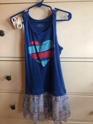 Blue size 6/6x girls tank top dress for Sale in Fairfax Station, VA