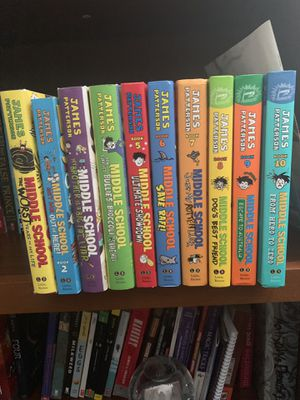 Middle school book series for Sale in Roanoke, VA
