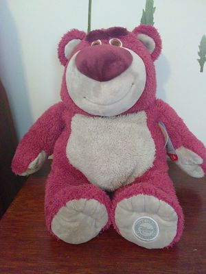 Disney NWT Toy Story lotso strawberry smell plush for Sale in Miami, FL