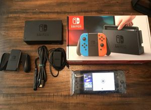 Nintendo Switch 32GB Console with Neon Red + Blue Joy-Con for Sale in San Jose, CA