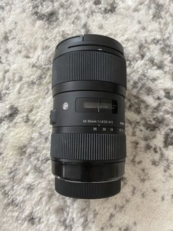 Sigma 18-35 mm f1.8 Art Lens for Sale in Quincy,  MA
