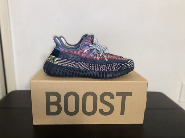 ADIDAS YEEZY BOOST 350 V2 YECHEIL SIZE 9 DS BRAND NEW NON REFLECTIVE