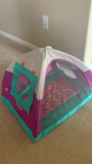 American girl camping tent ⛺️ 40 for Sale in Cypress, TX
