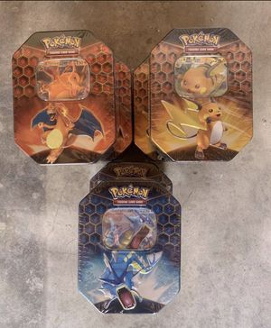 Pokémon Hidden Fates Tins for Sale in Oakland, CA