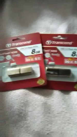 (1) Transcend Jet USB flash drive 3.0/2.0 ($6.00 each)or (2) for $10.00 for Sale in Washington, PA