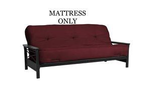 """BRAND NEW IN ORIGINAL PACKAGING PLASTIC AND BOX. FULL SIZE 8"""" FUTON MATTRESS for Sale in Dublin, OH"""
