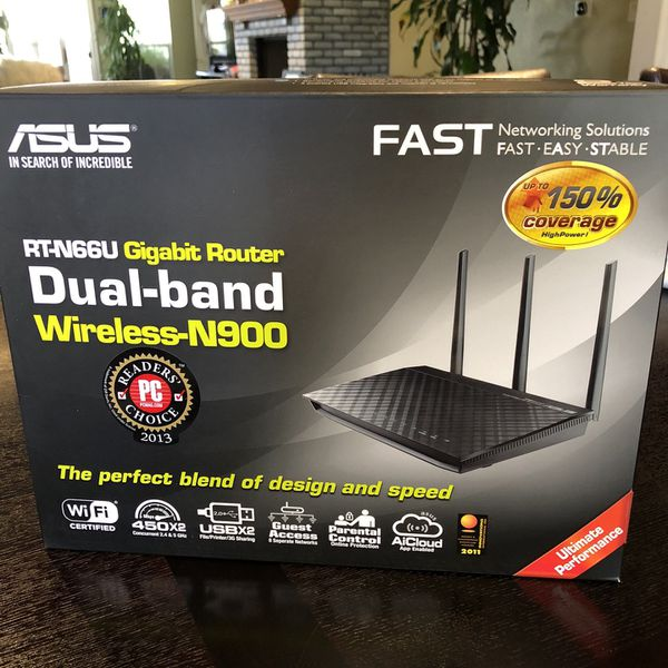 Asus Dual-band Wireless Router - great condition