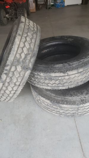 Tires rear for commercial tractor or trailer for Sale in Hesperia, CA