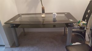 Double Glass Dining Table for Sale in Fairfax, VA