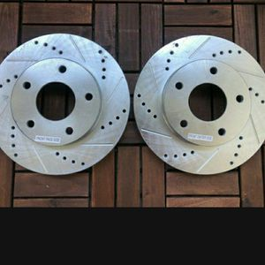 5x120 bolt pattern slotted and drilled rotors for Sale in Las Vegas, NV