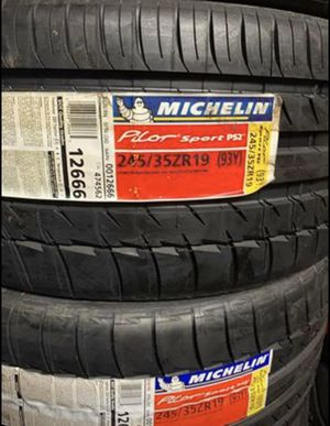 "19"" MICHELIN Pilot Sport PS2 Tires Brand New - In Stock Now Size 245/36ZR19 ....$139 Each for Sale in La Habra, CA"