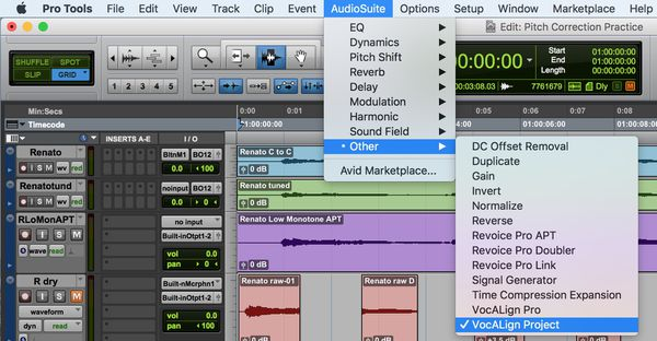 VocALign Pro Plug-in (Pro Tools Mac ONLY)