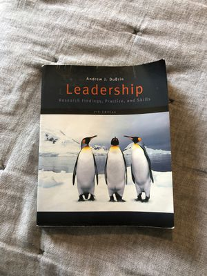 Leadership by Andrew J. DuBrin for Sale in North Providence, RI