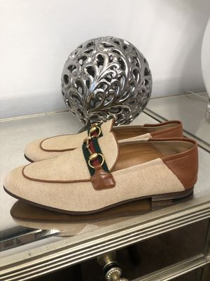 Gucci Men's Horsebit Web Loafers Size 7.5UK/8.5US for Sale in Tolleson, AZ