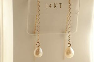 14k yellow gold and pearl earrings for Sale in Great Falls, MT