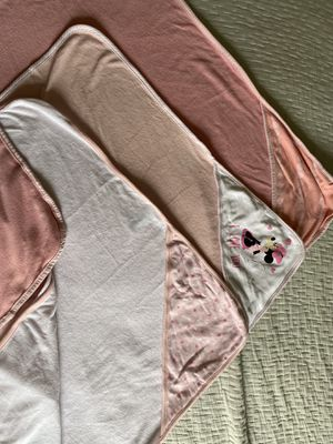 Baby girl hooded towels for Sale in San Diego, CA