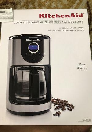 KitchenAid Coffee Maker for Sale in Tampa, FL