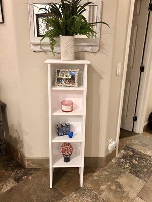 White shelf or bookcase for Sale in Scottsdale, AZ