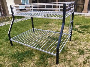 Dinsmore Twin over Full Bunk Bed from ashley furniture 👉( obo)👈👀 for Sale in San Bernardino, CA