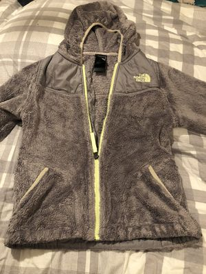 The North Face Zip Fleece Girls Size 10/12 for Sale in Mount Airy, MD