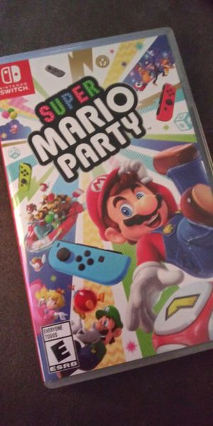 Nintendo Switch - Super Mario Party for Sale in Woonsocket, RI