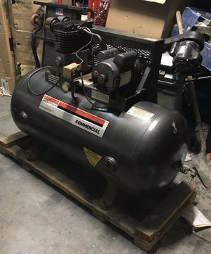 Sanborn commercial air compressor 5hp works like new for Sale in North Las Vegas, NV
